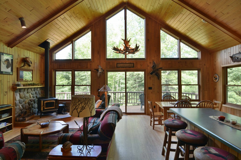 Clam Lake Wisconsin Virtual Tour