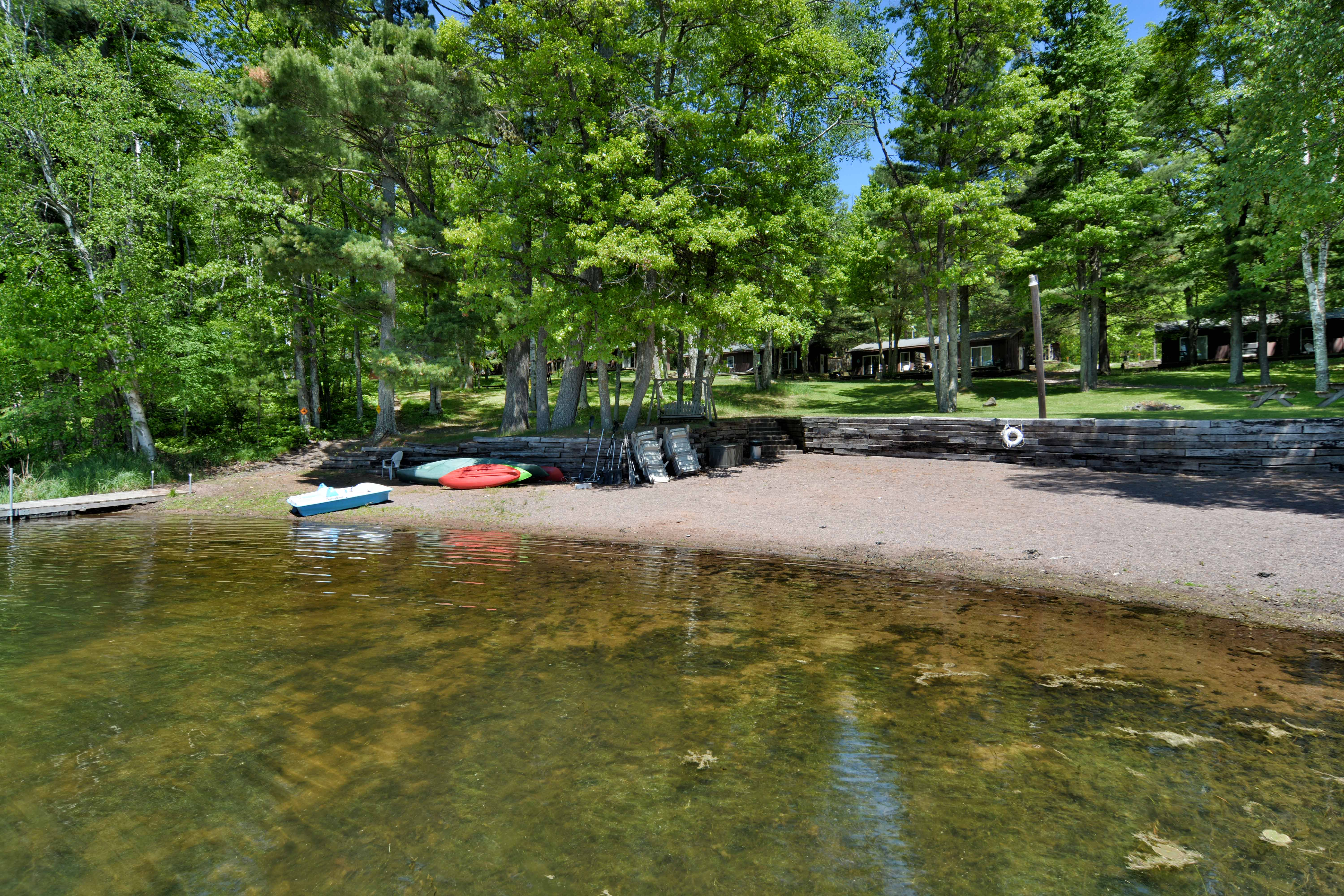 Iron River Wisconsin Cabin Rentals Deer Trail Lodge
