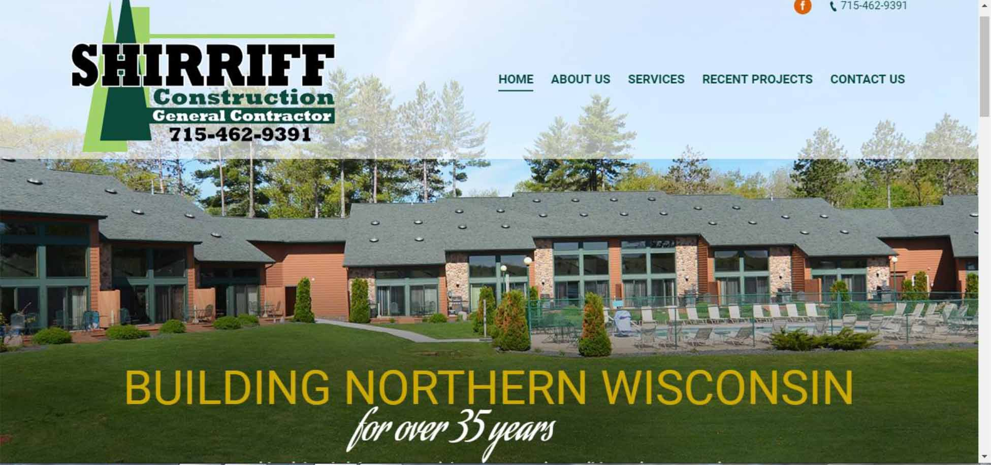 Web Site Development For Shirriff Construction Hayward
