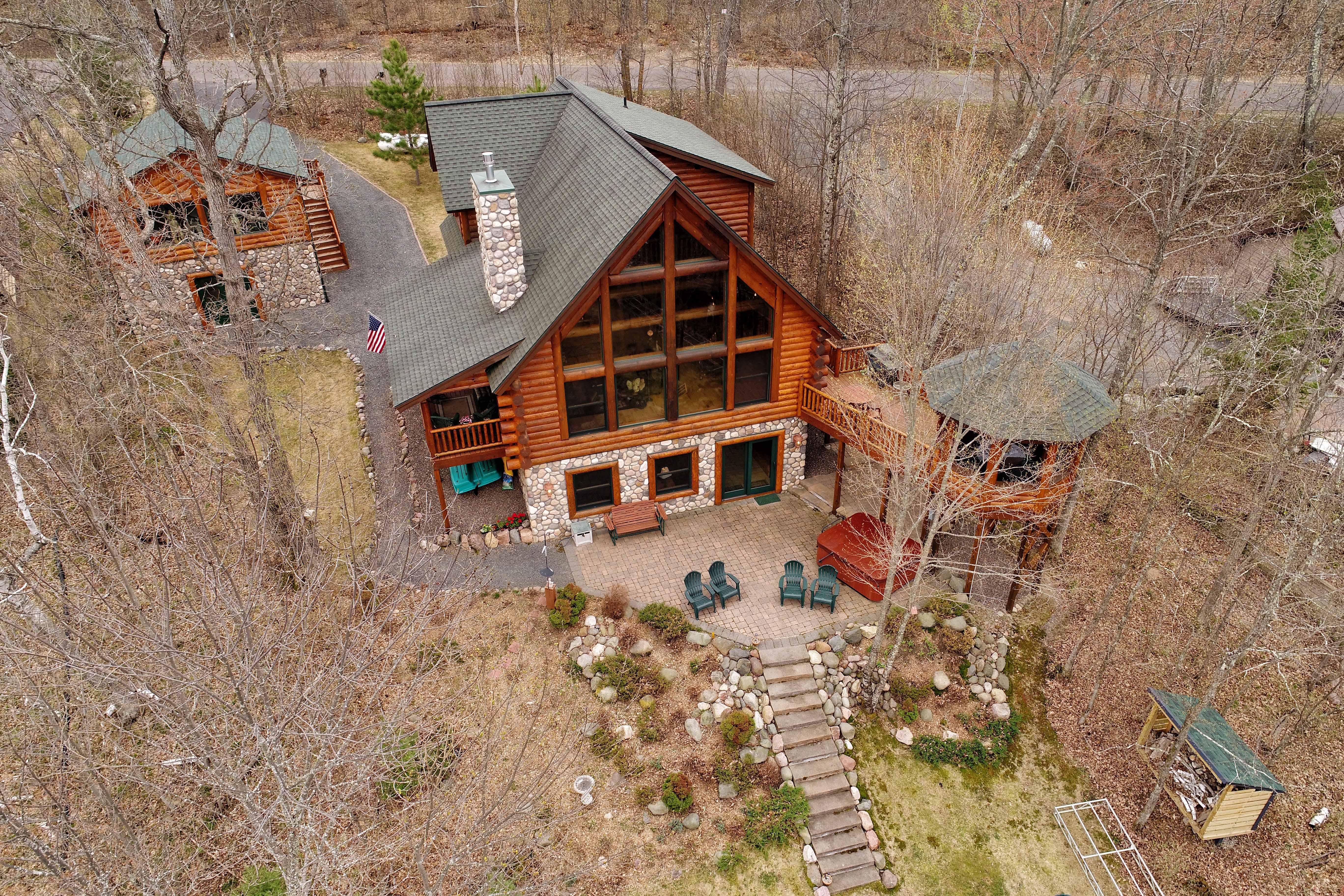 Big Chetac Lake Home Virtual Tour