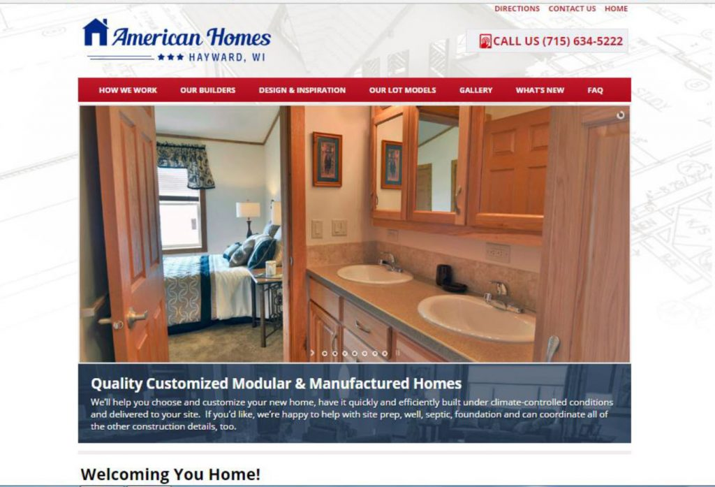 american-homes-web-site
