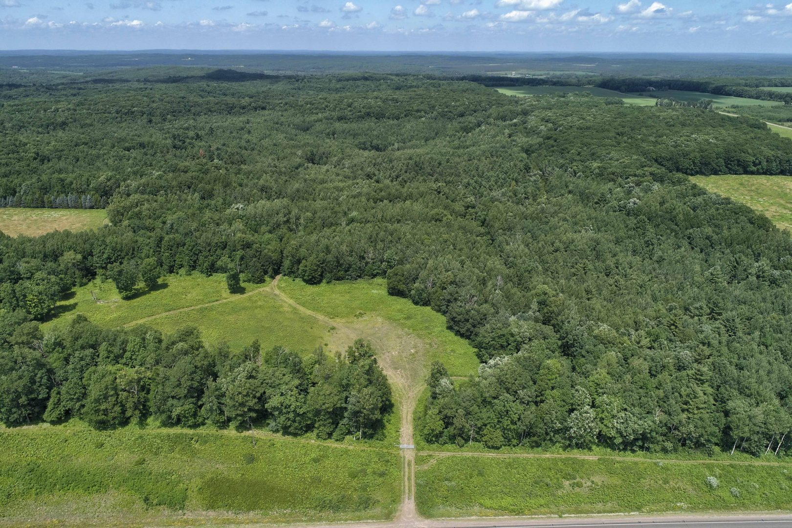 Aerial Drone Video Services Vacant Land