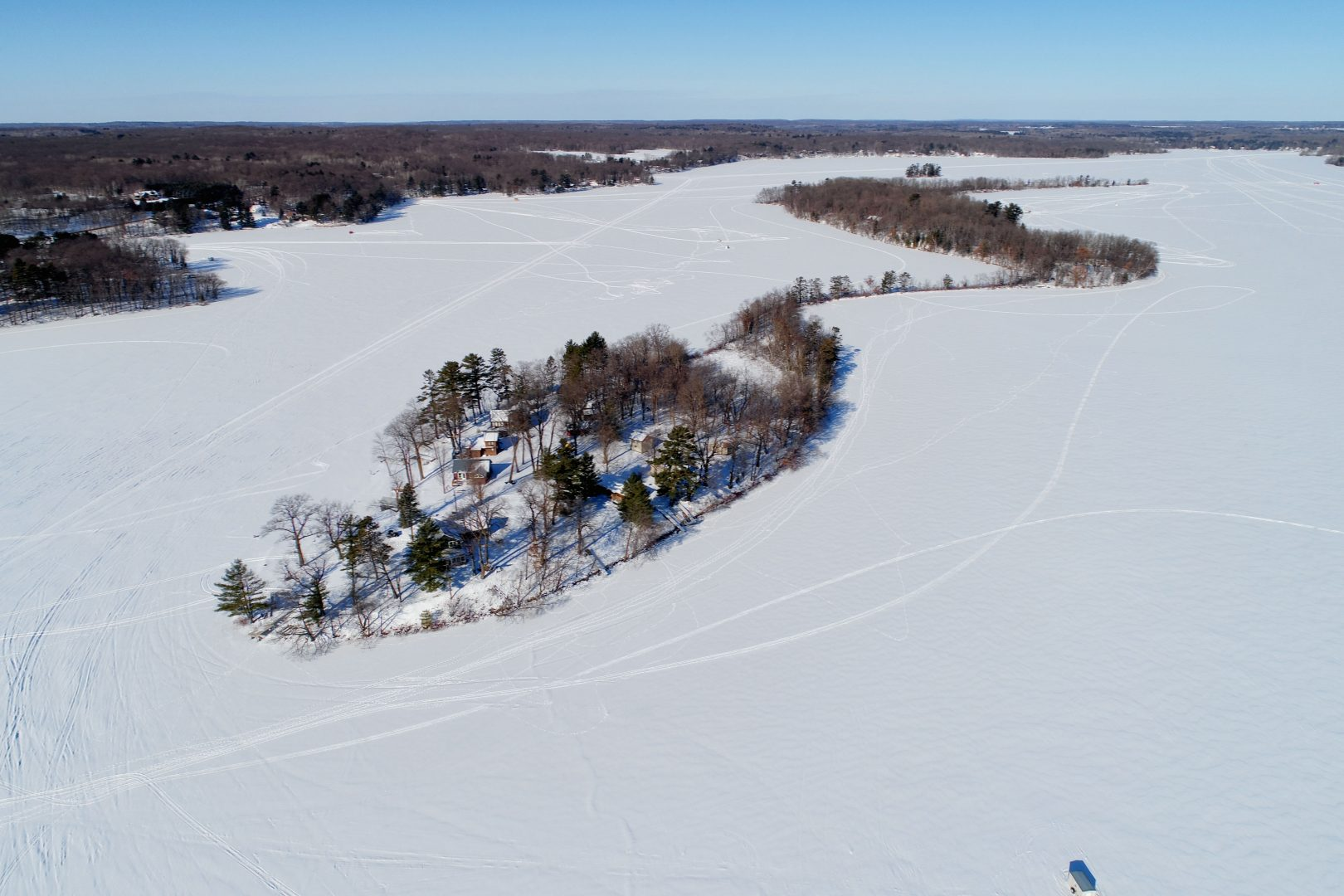 Long Lake WI Aerial Photo